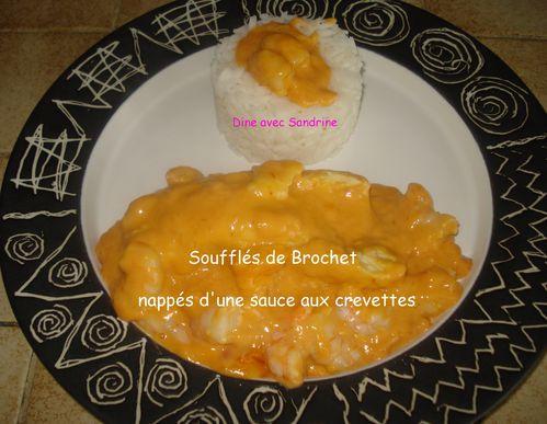 Délices Soufflés de Brochet nappés d'une sauce -copie-8