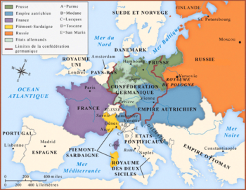 Map congress of vienna-fr