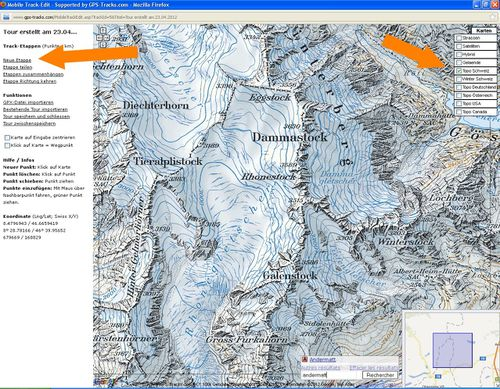 GPS track 4