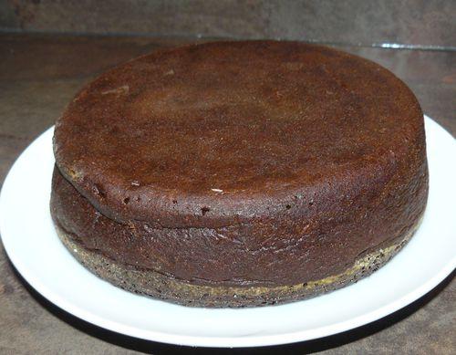 gâteau au chocolat et caramel assassin