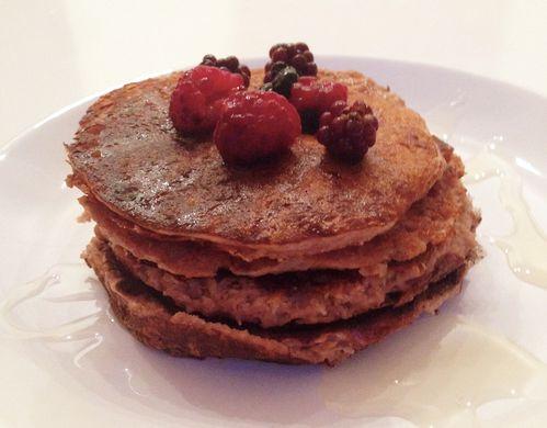 pancake choco