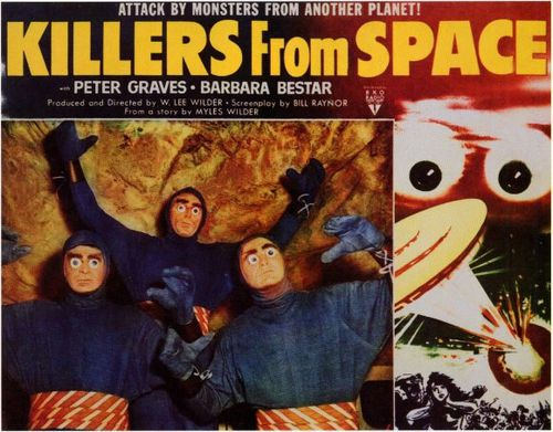 Killers from space affiche 2