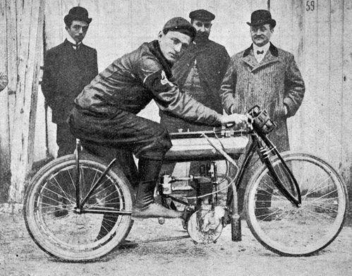 1904 Anzani Buchet tiers de litre BON