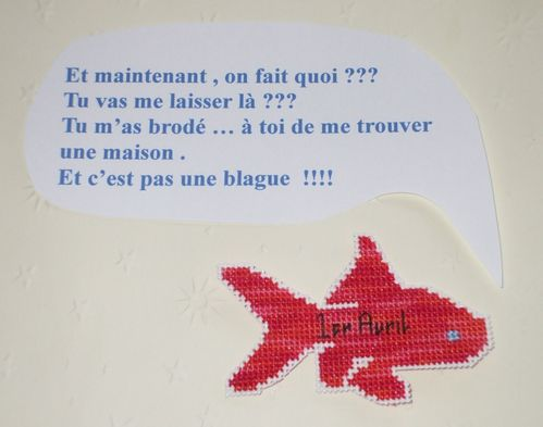 poisson d'avril 2