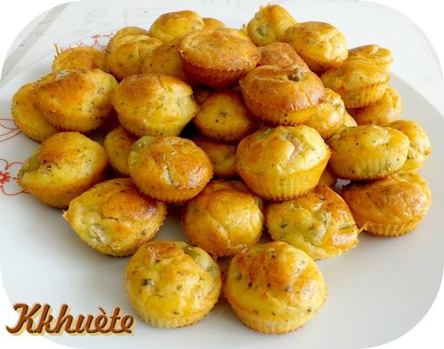 Recette Mini Cakes Olives Fromage