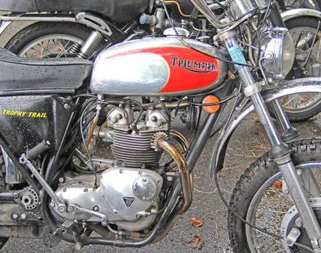 Triumph Trophy trail