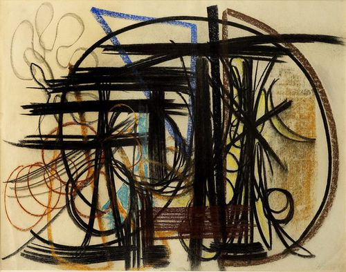 Hans Hartung composition 1