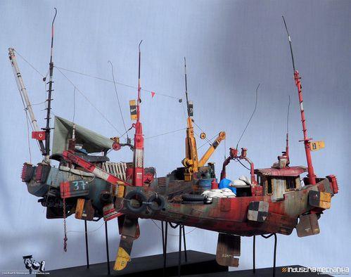 Michael Fichtenmayer maquette de ian mcque