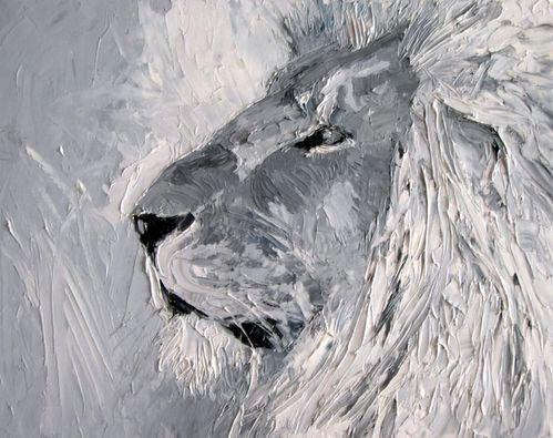 dans le lion s en allant en guerre