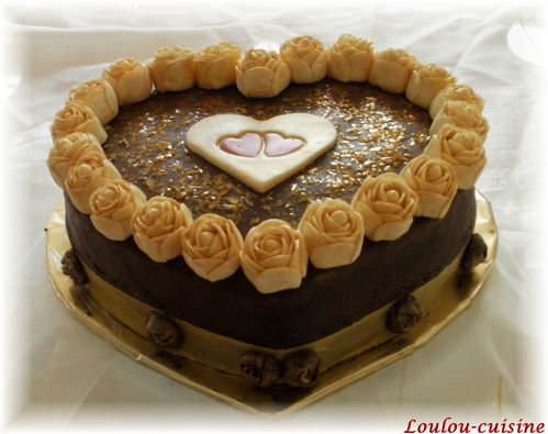gateau en or a