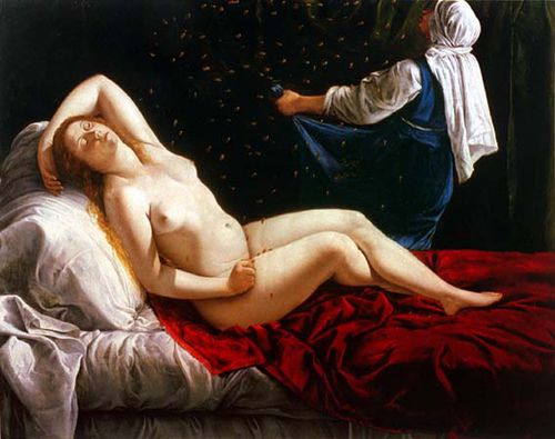 Gentileschi Artemisa Danae Sait Louis
