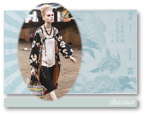 fashion ballyhoo- style nippon asiatique lookbook