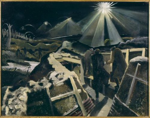 The Ypres Salient by Night. 1918