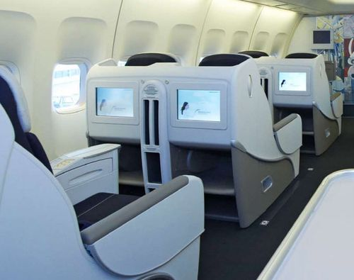 air france business cabine