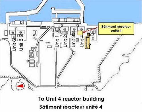 Bat réacteur unit 4