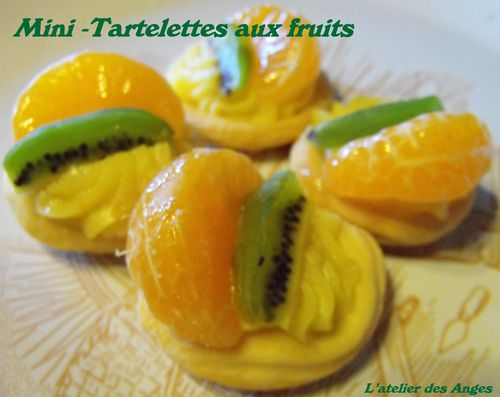 Mini tartelette fruit 1