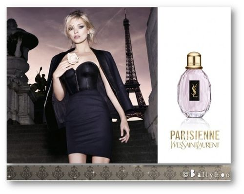 Fashion Ballyhoo - Kate Moss Pour Yves Saint Laurent Parisi