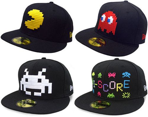 casquette-pacman-space-invaders