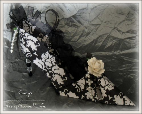 Chaussures et corset glamour (2)