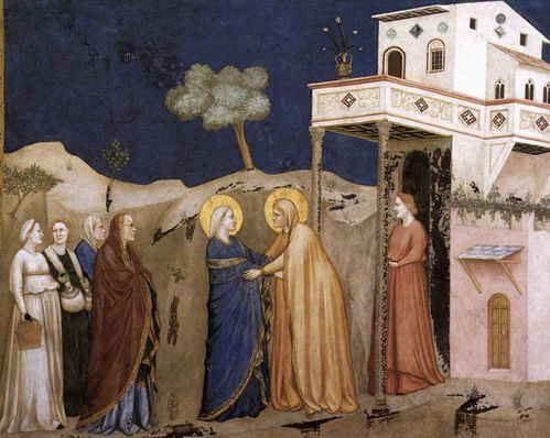 Giotto Visitation