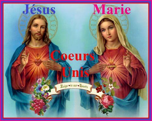 Coeurs Unis Jésus Marie