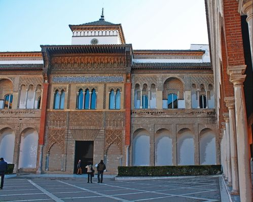 fachada palacio pedro I