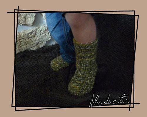 chaussons 24m portés