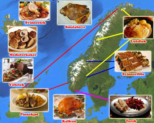 Menu Traditionnel De Noel.Repas De Noel Traditionnel Norvege