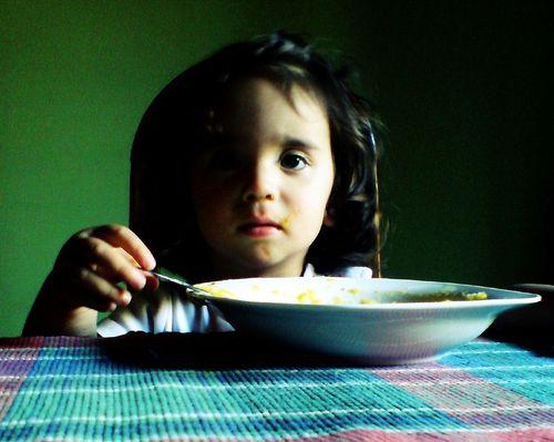 enfant-repas