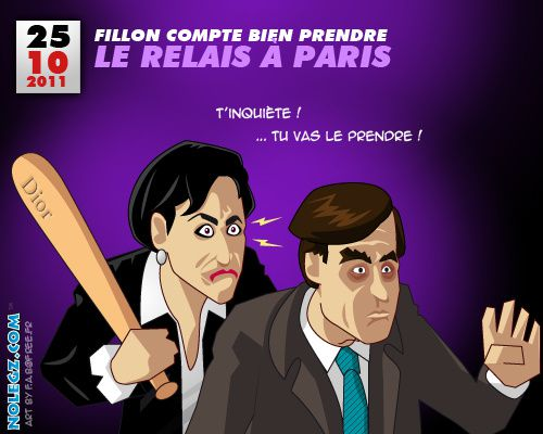 sarkozy dati fillon paris 6