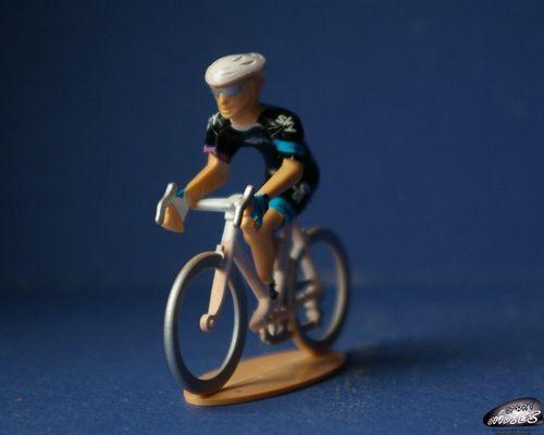 Cycliste miniature team Sky