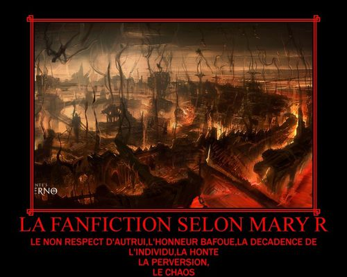 La fanfiction suivant Mary R