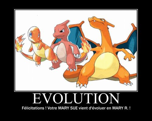 evolution mary R
