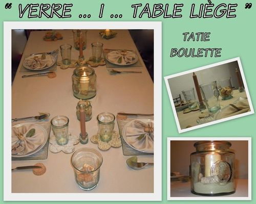 verre i table