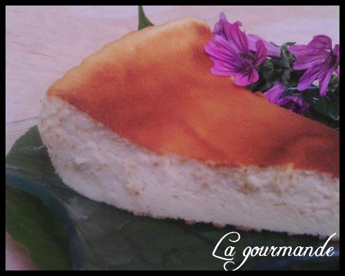 Gateau au fromage weight watchers