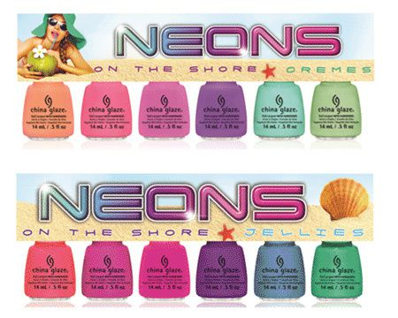 China-Glaze-Summer-2013-Neons-On-The-Shore-Collection-Promo