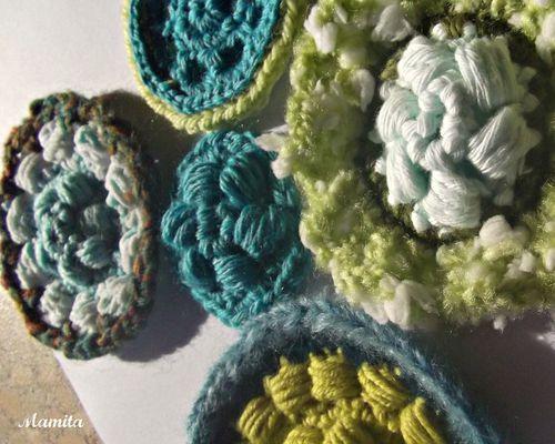 fleurs de crochet