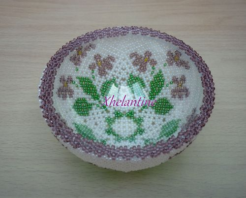 coupelle avec violettes 2