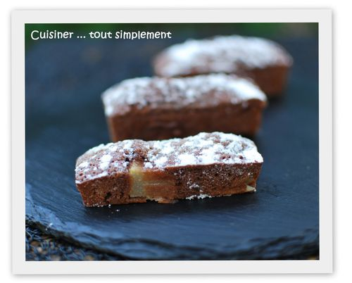 brownies poire