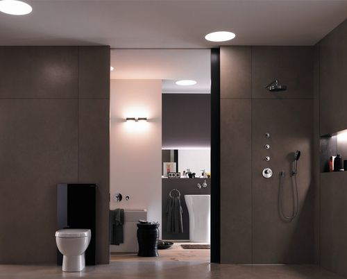 luminaire toilette. Black Bedroom Furniture Sets. Home Design Ideas