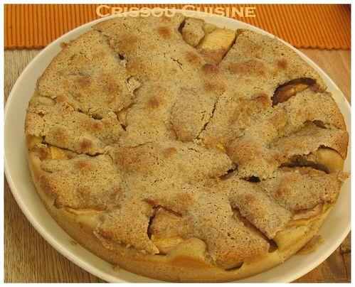tarte flamande bourdaloue aux pommes