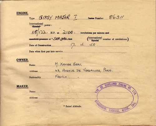 carnet F BDPE022