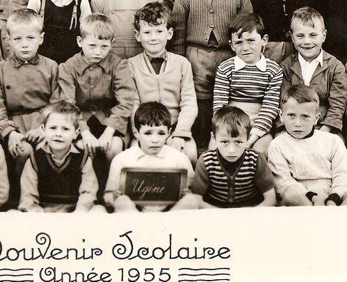 349- Classe primaire 1955 - Ugine