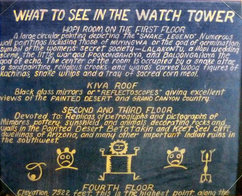Grand Canyon Watch Tower info