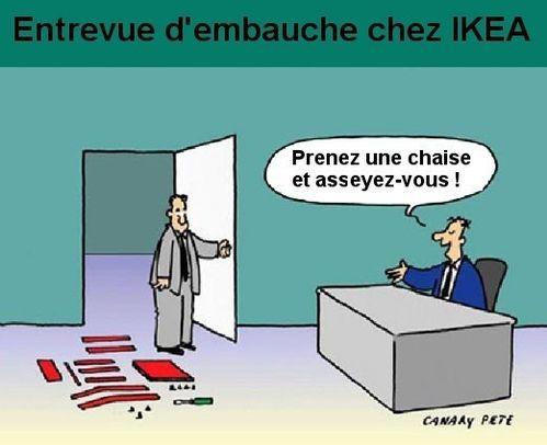 Embauche chez IKEA