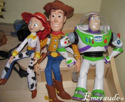 Buzz, Woody, Jessie
