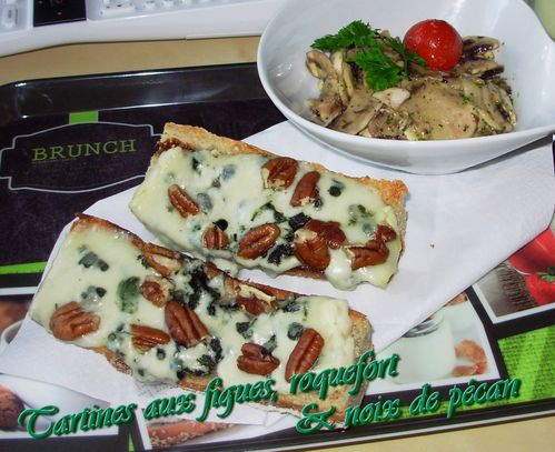 Tartines figues, roquefort & pécan2