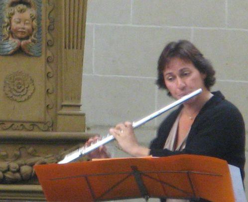 Eglise St Pierre-Dimanches musicaux orgue et flute flutiste