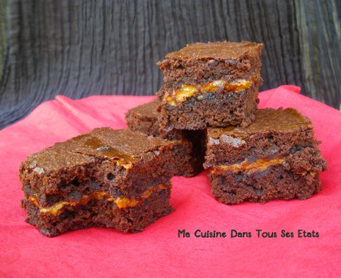 brownie confiture de lait