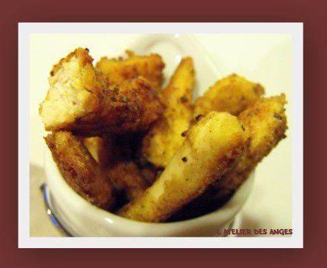 Aiguillettes poulet panées 2
